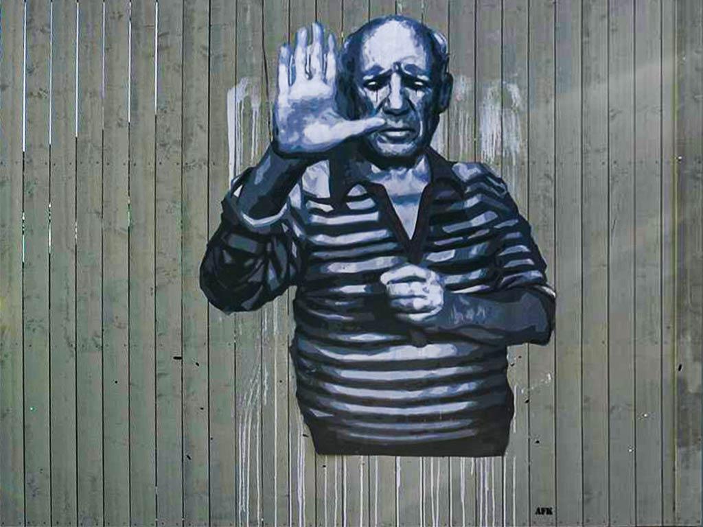AFK Graffiti ved Y-blokka